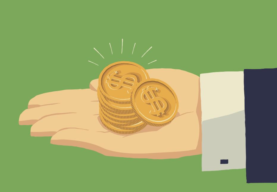 gold-coin-investing-illustration