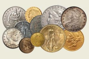 Rare Coins Instead of Traditional Investments